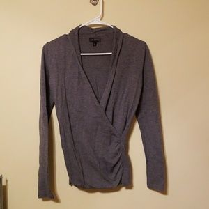 The limited, gray sweater